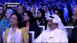 لقاء باسم يوسف وطوني خليفه في ندوه الاعلام العربي