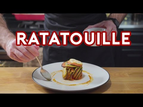 Binging with Babish Ratatouille Confit Byaldi from Ratatouille