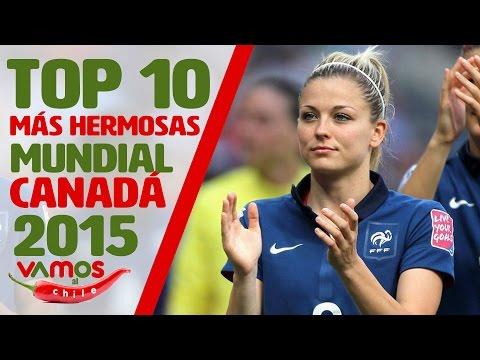 Las 10 futbolistas más hermosas del Mundial Femenil Canadá 2015