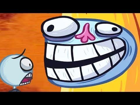 Trollface Quest Internet Memes Walkthrough! All Levels - Funny Kids Cartoon Game Video