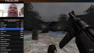 Return to Castle : Wolfenstein l Don't hurt me l Speed Run 00:58.01 [PB]