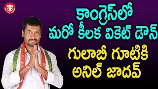 Anil Jadhav Boath Congress Party Incharge Joined In TRS Party | Eagle Telangana