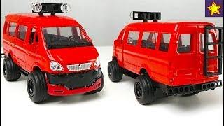 Машинки Газель Тюнинг Завершен. Что получилось? Cars Toys Tuning