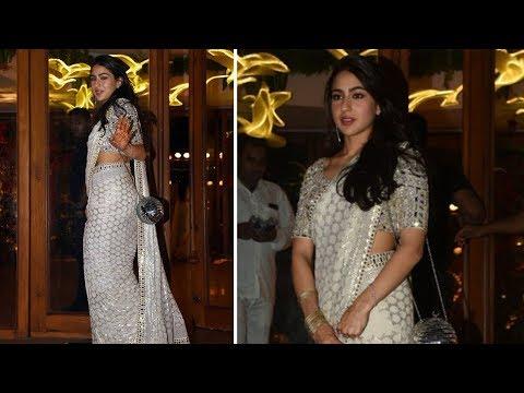 Sara Ali Khan Dancing In A Wedding   Latest Bollywood Gossips 2018
