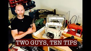 Two Guys, Ten Tips: To Help You Sew Like A Pro! (Collaboration with Alexander Dyer)
