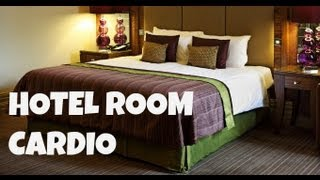Hotel Room Cardio (fat burning workout for small spaces)