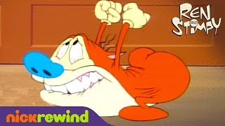 Stimpy Can't Fart | The Ren & Stimpy Show | The Splat