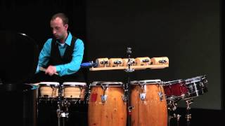 Michael Torke's 'Rapture Concerto for Solo Percussion and Orchestra', Movt. 1: For Drums and Wood