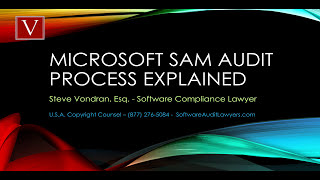 What happens when you get a Microsoft SAM audit letter?