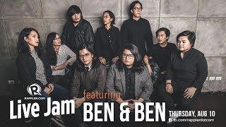 Rappler Live Jam: Ben&Ben returns