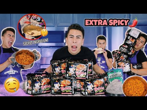How to Make BOMB AF SPICY NOODLES Louie s Life