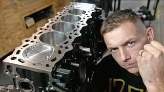 2JZ Stroker Ep. 1 - Rotating Assembly