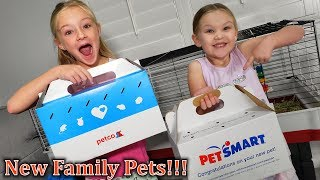 New Family Pets for Trinity and Madison! It's So Fluffy!!!