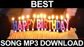 Best Happy Birthday Song Mp3 Free Download