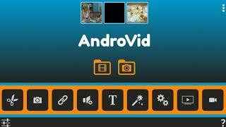 شرح وتحميل برنامج محرر الفيديو للاندرويد ( AndroVid Pro ) جديد 2016 HD
