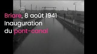 Dans les années 40, la reconstruction du pont-canal de Briare