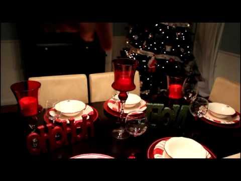 Tour de Mi Comedor Decoraciones de Navidad