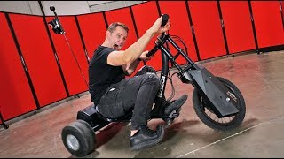 Electric Drifting Trike!   DOPE or NOPE?!