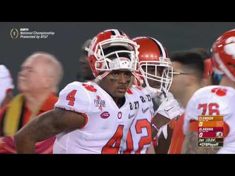 2016 CFP National Championship 2 Clemson vs. 1 Alabama HD