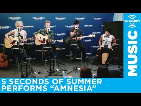 "5 Seconds of Summer ""Amnesia"" Live @ SiriusXM  Hits 1"