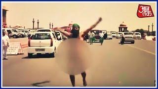 Tamil Nadu Farmer Protest Naked Near Prime Minister's Office