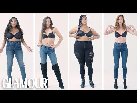 Xxx Mp4 Women Sizes 32A To 42D Try On The Same Bra Fenty Glamour 3gp Sex