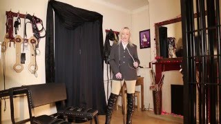 Stable Boy Whipping Punishment - Equestrian Mistress BDSM Dominatrix -  Fetish Clip Preview