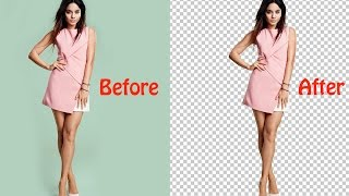 Tutorial Photoshop - How to remove/cut background in photoshop cs6 Bangla tutorial