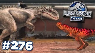 Indominus Rex + T.Rex Grudge Match! || Jurassic World - The Game - Ep276 HD