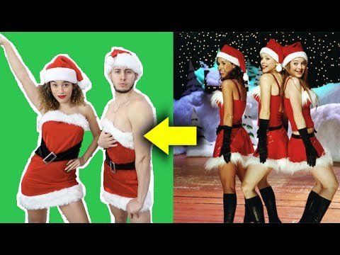 RECREATING CHRISTMAS MOVIES WITH DAVID ALVAREZ Elf The Grinch Mean Girls