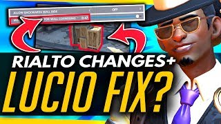Overwatch | LUCIO FIX?! + RIALTO CHANGES (PTR Patch Summary)