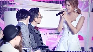 Soyou (Sistar) and Mino ( Winner )