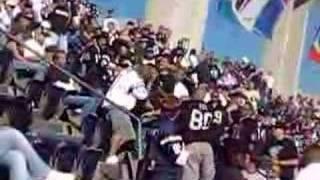 Charger Fan Pushes Down Raider Fan