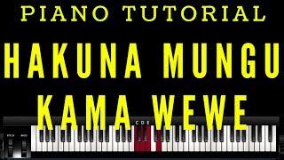Hakuna Mungu Kama Wewe (Piano Tutorial)