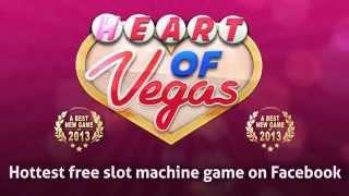 Heart Of Vegas - Free Online Slots