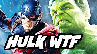 Captain America Civil War WTF is Hulk