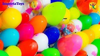 50 Super Surprise Eggs!!!  Masha i Medved Disney Cars Mickey Minnie Spiderman Planes Frozen