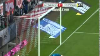 اهداف مباراة - بايرن ميونخ 0-3 بروسيا دورتموند || الدوري الالماني [12/4/2014] تعليق فارس عوض
