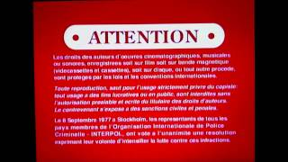 Canadian Warning Screens Videotapes Version (1992-2006) with English/Français