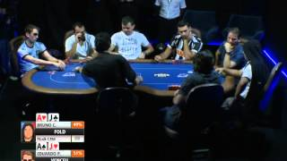 Mesa Final do Sierra Poker Premium 300K em Belo Horizonte