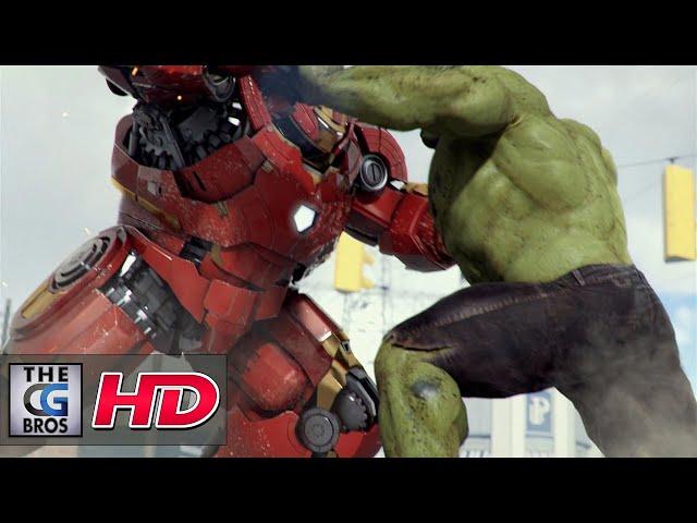 "CGI 3D Animated Short: ""IRON MAN GAMMA PROTOCOL""  - by Anthony Mcgrath"