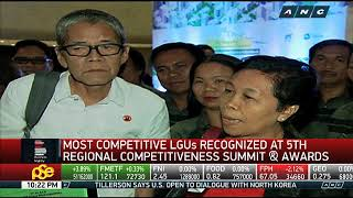 Business Nightly: LGUs recognized at regional competitiveness summit