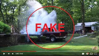 FAKE - McJuggernuggets Psycho Uncle Impacts pool & Jesse covering up fact that he's fake