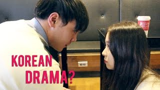 Stereotypical Korean Drama Parody 한국 드라마 패러디
