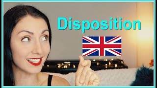 DISPOSITION | How To Pronounce | British English Pronunciation