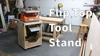 Flip Top Tool Stand