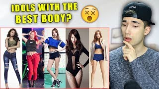 Kpop Girl Groups With The Best Bodies!