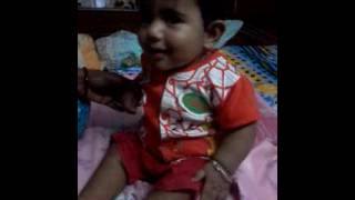 Mainak Banerjee. Age 6 month.
