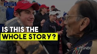 The Media got it wrong: New footage Busts Claim that MAGA Hat Students Antagonized Native American