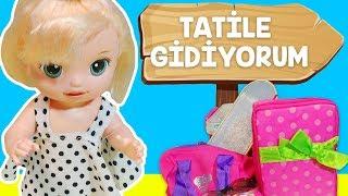 Baby Alive Blonde Lily Sihirli Peri Aylin Selin Tatil Gidiyoruz Bavul Telaşı 😍  Oyuncak Butiğim